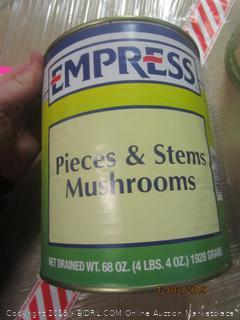 Empress pieces & stems mushrooms
