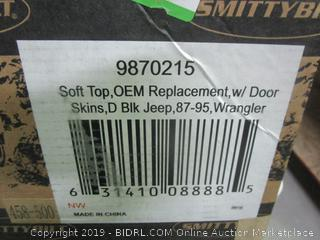 soft top OEM replacement with door skins