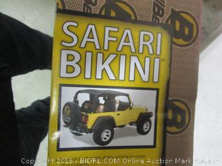 safari bikini vehicle cover