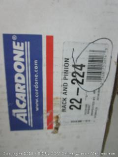 Acardone rack and pinion