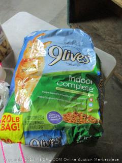 9Lives indoor adult cat food