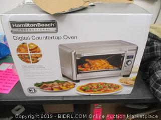 Hamilton Beach Digital Countertop Oven