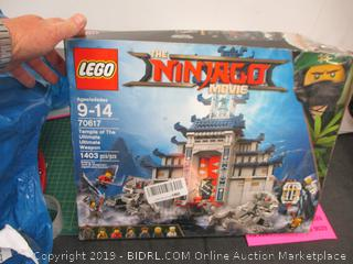 Lego Ninjago Movie Temple of the Ultimate Weapon