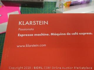 Klarstein Espresso Machine