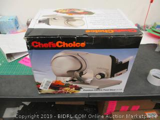 Chefs Choice Food Slicer