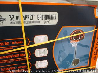Impact Basketball Backboard