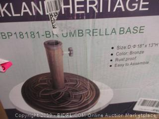 Umbrella Base Missing Parts