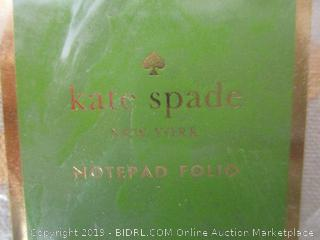 Kate Spade Notepad Folio