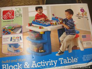 Block and Activity Table