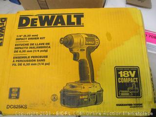 DeWalt Impact Driver Kit