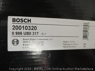 Bosch Quiet Cast Rotor Disc