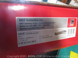 Sanding Belts & GRIT Sanding Strips