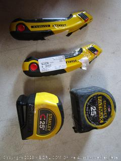 Box Cutters & Measuring Tape