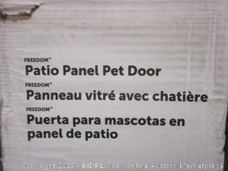 Patio Panel Pet Doir