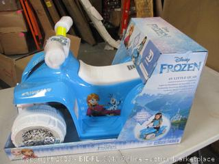 Frozen Push Bike