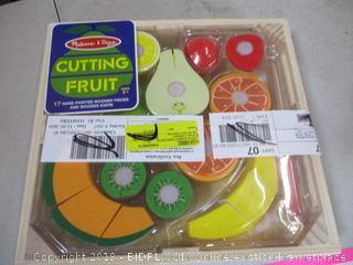 Cutting Fruit Toys