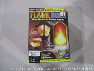 Flame Bulb LED Flickering