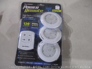 Power Remote LEDS Light with remote