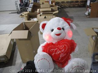 Teddy Bear Lights Up See Pictures
