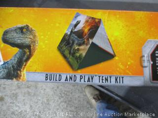 Jurassic World Build and Play Tent Kit