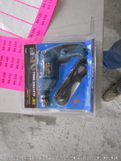 "Cal Hawk 3/8"" Electric Drill See Pictures"