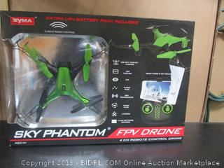 Sky Phantom FPV Drone-multiple some missing pieces-PLEASE PREVIEW