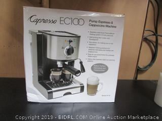 Capresso EC100- Cappuccino Machine  PLEASE PREVIEW