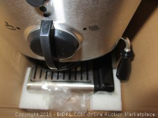 Capresso EC100- Cappuccino Machine  PLEASE PREVIEW