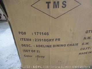 Adeline Dining Chair  Missing Hardware