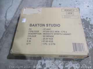 Baxton Studio Modesto Spirits Cabinet