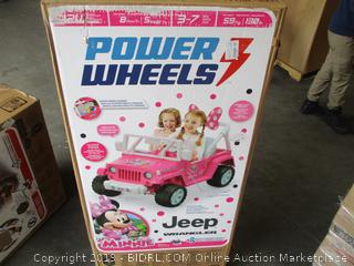 Power Wheels Kids Jeep Wrangler
