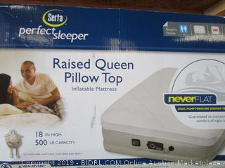 Raised Queen Pillow Top