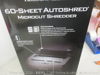 Boxis 60 Sheet Autoshred