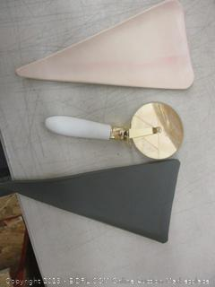Pizza Plate and Cutter