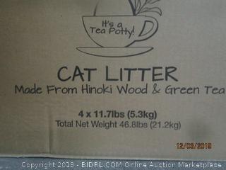Cat litter