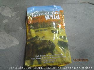 taste of the wild canine food formula