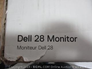 DELL 28 MONITOR