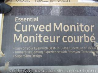 CURVED COMPUTER MONITOR
