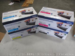 BROTHER HIGH YIELD COLOR TONER CARTRIDGE