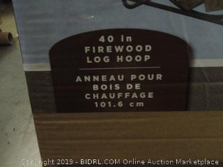 Firewood Log Hoop