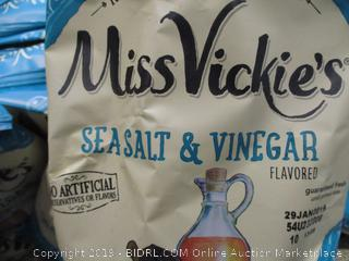 Miss Vickie's Sea Salt & Vinegar Potato Chips