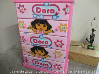 Dora Pink Chest Dresser