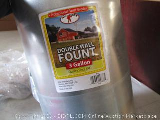 Double Wall Fount