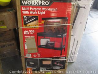Multi Purpose Workbench with Work Light