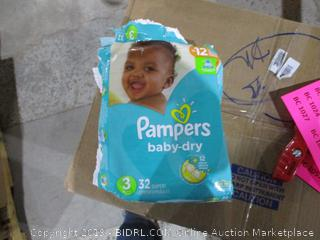 Pampers Diapers 3