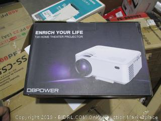 DBPower T20 Home Theater Projector