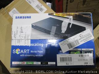 Samsung smart blu-ray player with streaming services BD-JM63