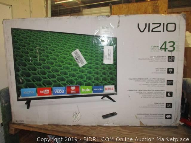 BIDRL COM Online Auction Marketplace - Auction: TV Auction - 840 N