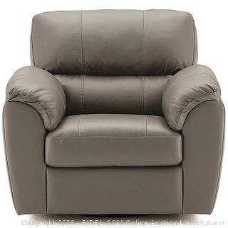 Leather Possibilities Pad-Arm Swivel Chair (Retail $2080)