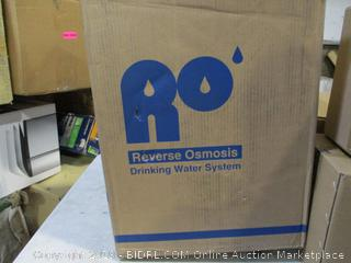 Reverse Osmosis Water Storage and Delivery